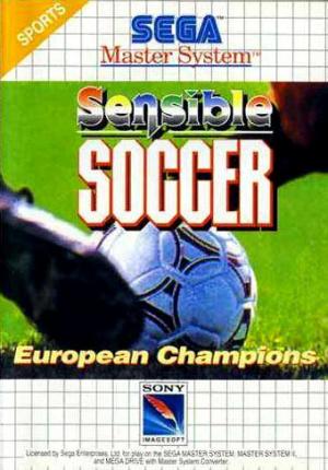 Sensible Soccer : European Champions sur MS