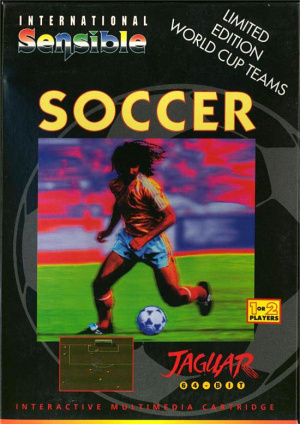 International Sensible Soccer : World Champions sur Jaguar