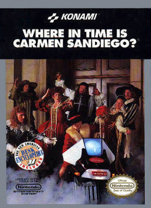 Where in Time is Carmen Sandiego? sur Nes