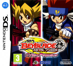 Beyblade : Metal Fusion sur DS