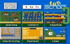 Fun School 3 : For 5 to 7 Year Olds sur C64