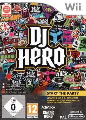 DJ Hero sur Wii