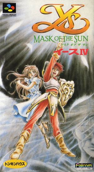 Ys IV : Mask of the Sun sur SNES
