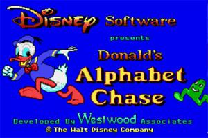 Donald's Alphabet Chase sur Amiga