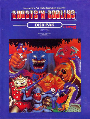 Ghosts'n Goblins sur PC