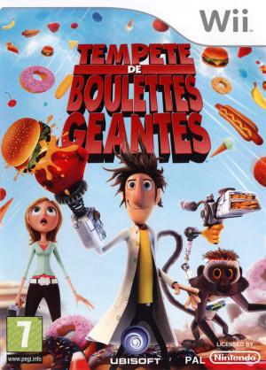 Tempête de Boulettes Géantes sur Wii
