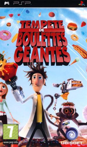 Tempête de Boulettes Géantes sur PSP