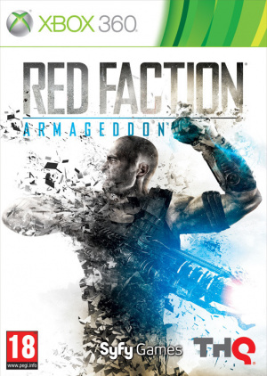 Red Faction Armageddon sur 360