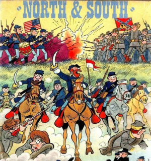 Les Tuniques Bleues - North & South