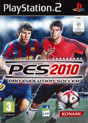 Pro Evolution Soccer 2010 sur PS2