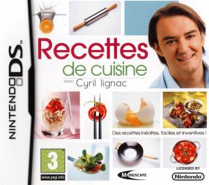 Recettes de Cuisine avec Cyril Lignac sur DS