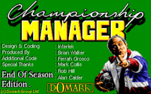 Championship Manager : End of Season Edition sur Amiga