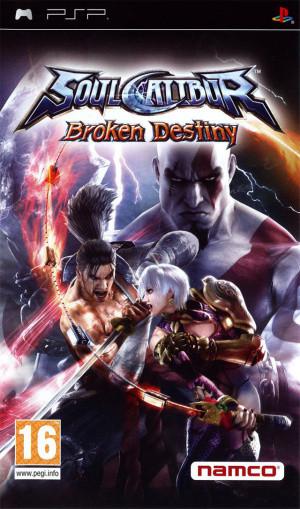 SoulCalibur : Broken Destiny sur PSP