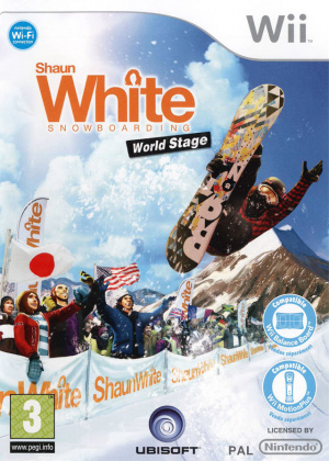 Shaun White Snowboarding : World Stage sur Wii