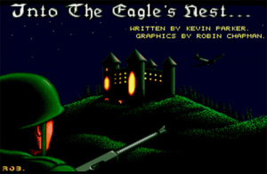 Into the Eagle's Nest sur Amiga