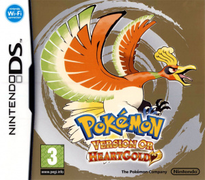 Pokémon Version Or : HeartGold sur DS