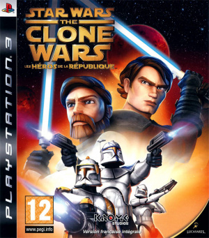 Star Wars The Clone Wars : Les Héros de la République sur PS3