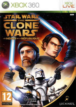 Star Wars The Clone Wars : Les Héros de la République sur 360