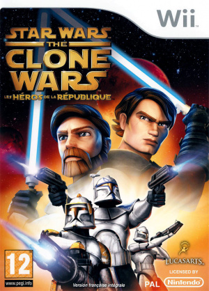 Star Wars The Clone Wars : Les Héros de la République sur Wii