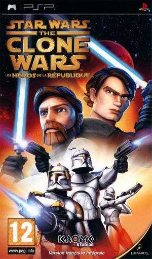 Star Wars The Clone Wars : Les Héros de la République sur PSP