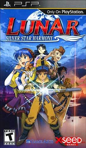Lunar : Silver Star Harmony sur PSP