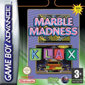 Marble Madness & Klax sur GBA