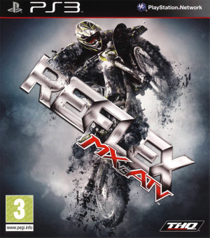 MX vs ATV Reflex sur PS3