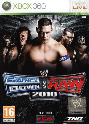 WWE Smackdown vs Raw 2010 sur 360