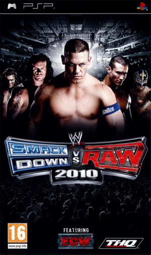 WWE Smackdown vs Raw 2010 sur PSP