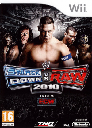WWE Smackdown vs Raw 2010 sur Wii