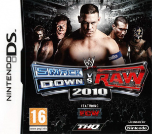 WWE Smackdown vs Raw 2010 sur DS