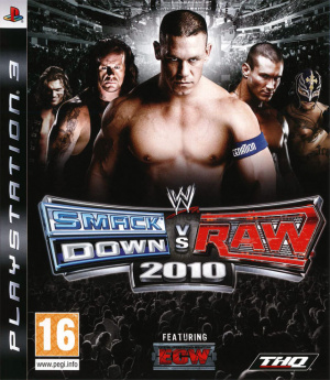 WWE Smackdown vs Raw 2010 sur PS3