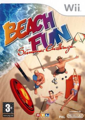 Beach Fun Summer Challenge sur Wii