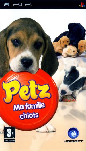 Petz : Ma Famille Chiots sur PSP