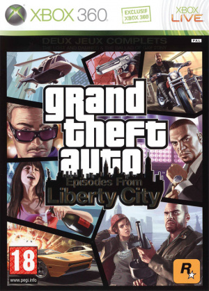 Grand Theft Auto : Episodes from Liberty City sur 360
