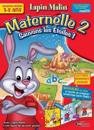 Lapin Malin : Maternelle Moyenne Section - Sauvons les Etoiles sur PC