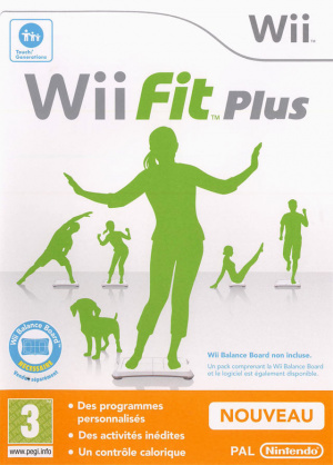 Wii Fit Plus sur Wii
