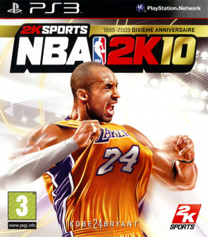 NBA 2K10 sur PS3