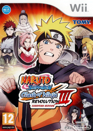 Naruto Shippuden : Clash of Ninja Revolution III - European Version sur Wii