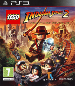 LEGO Indiana Jones 2 : L'Aventure Continue sur PS3