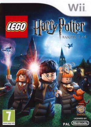 LEGO Harry Potter : Années 1 à 4 sur Wii