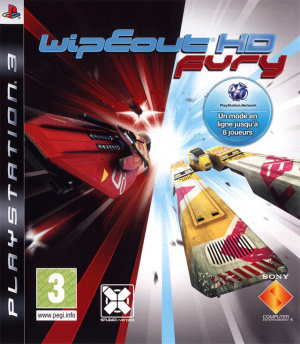 WipEout HD Fury sur PS3
