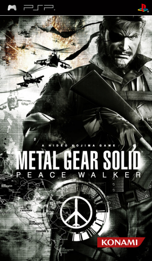 Metal Gear Solid : Peace Walker sur PSP