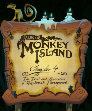 Tales of Monkey Island - Chapter 4 : The Trial and Execution of Guybrush Threepwood sur Wii