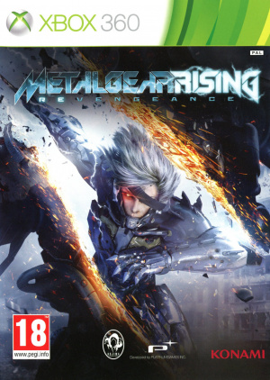 Metal Gear Rising : Revengeance sur 360