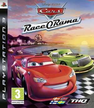 test du jeu cars o rama sur psp. Black Bedroom Furniture Sets. Home Design Ideas