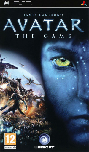 James Cameron's Avatar : The Game sur PSP