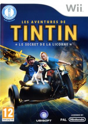 Les Aventures de Tintin : Le Secret de la Licorne sur Wii