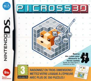 Picross 3D sur DS