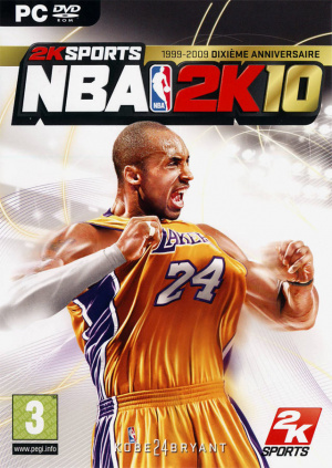 NBA 2K10 sur PC
